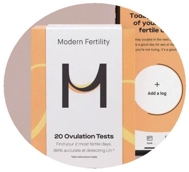 Modern Fertility Ovulation Tests