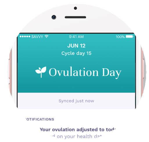 Ava Fertility Tracker Results Display