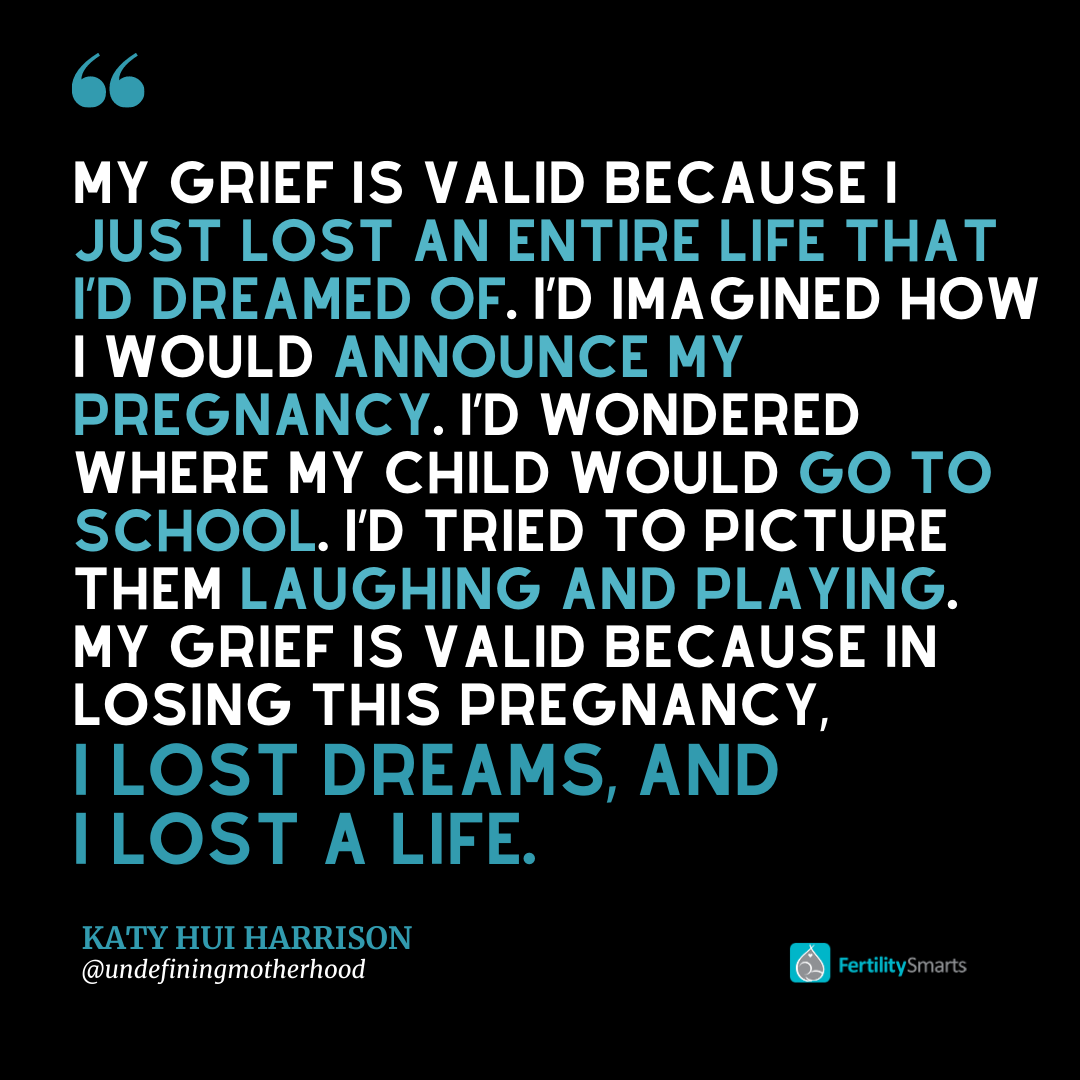 Quote about miscarriage and grief