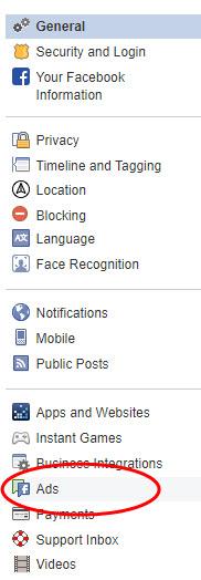 Blocking parenting ads screenshot